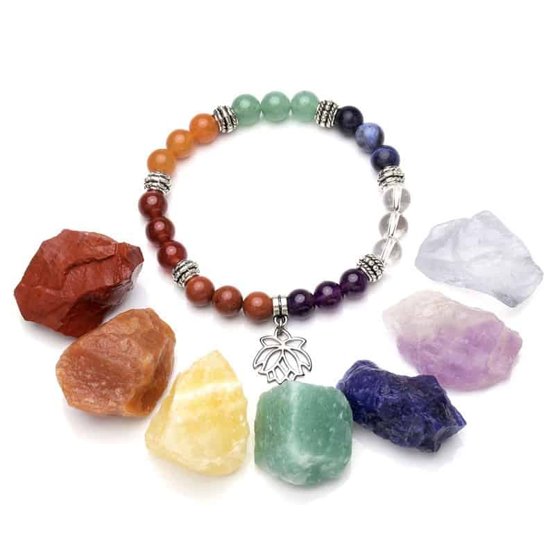Motivational Items: Chakra Healing Crystals
