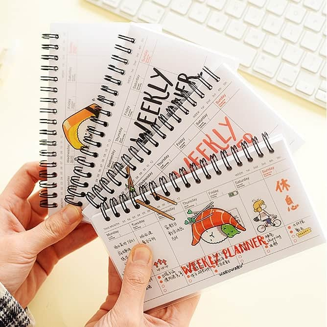 Motivational Items: Handy Weekly Planner